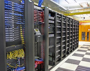 Organized and clean data center storage array
